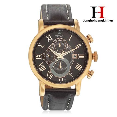 Đồng hồ nam dây da tittan bán chạy nhất 2016
