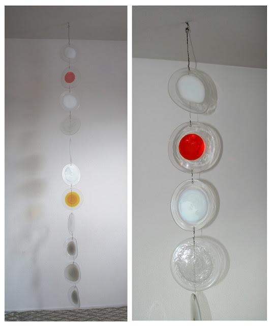 dischi vetro Murano glass discs