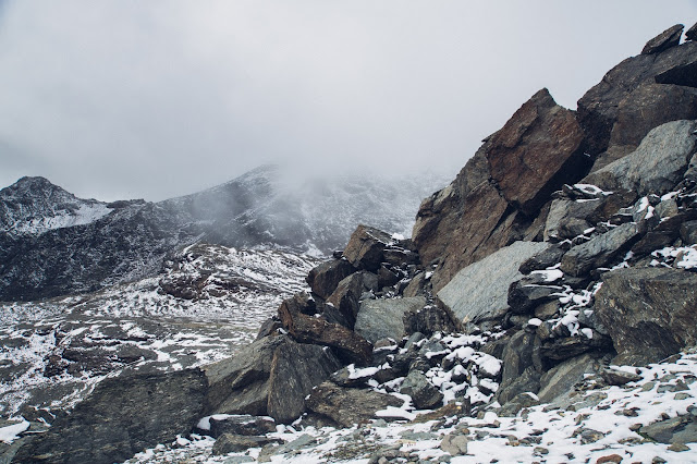 Plattenspitze – Punta delle Laste 3.422m  Bergtour-Martelltal  Wanderung-Martell  Wandern-Südtirol 10