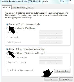 wifi tersambung tapi tidak bisa internet