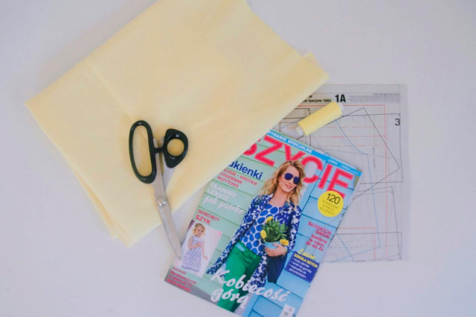 Żółta spódnica jako nowe doświadczenie