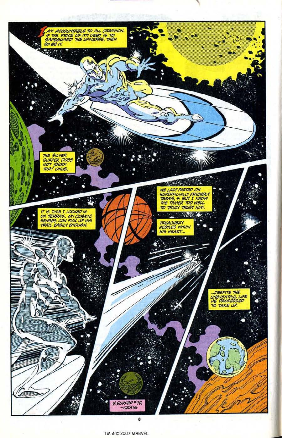 Read online Silver Surfer (1987) comic -  Issue #80 - 10