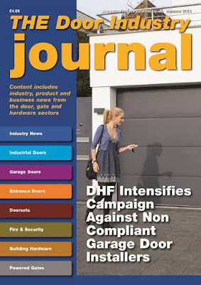 The Summer 2015 digital issue of the Door Industry Journal is our biggest ever, containing 120 pages. You can read this new issue and others without subscribing at www.dijonline.co.uk .
