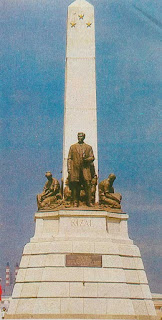 Gambar Monumen Jose Rizal di Manila