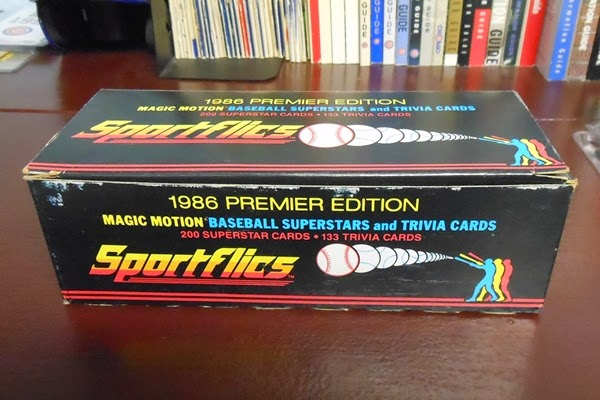 Wrigley Wax 1986 Sportflics Complete Set