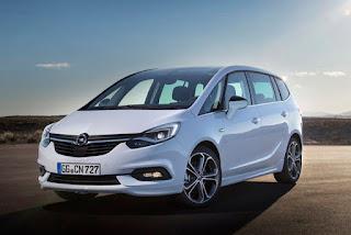 Look Contenuti Nuovi Opel Zafira