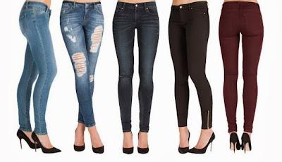 Model Skinny Jeans