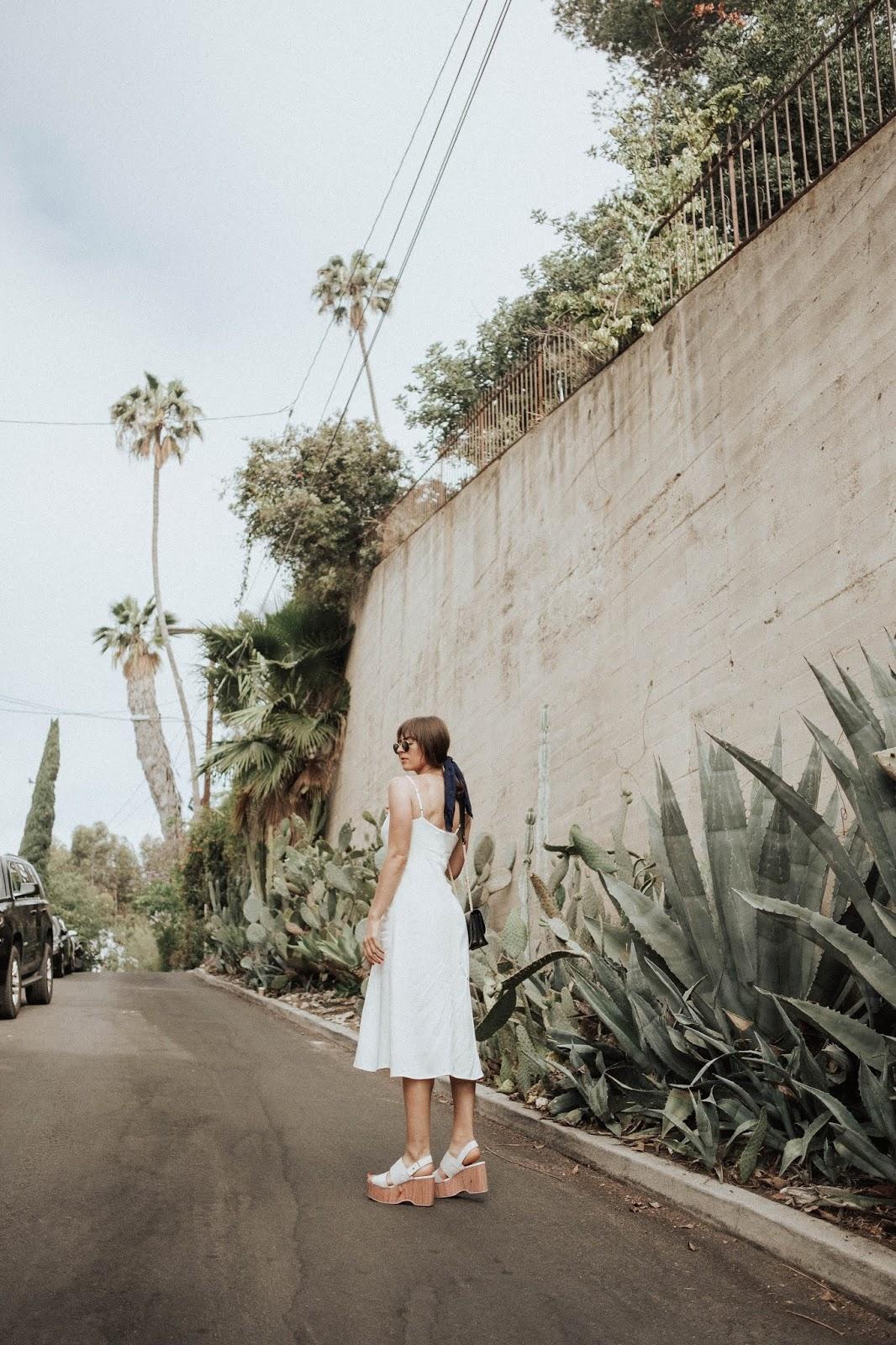Summertime Staple- The White Cotton Dress