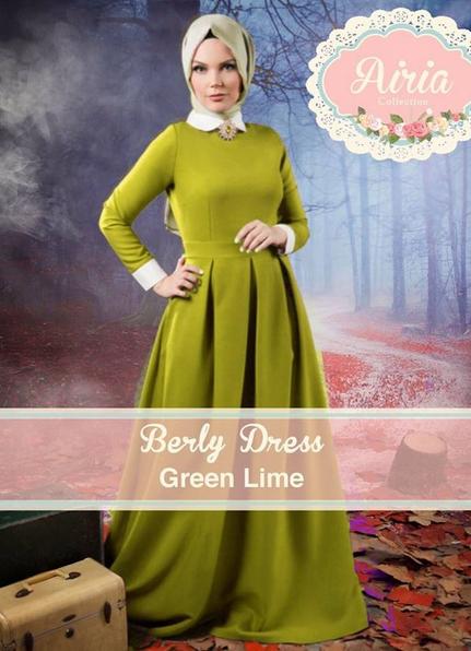 Model Terbaru Baju Muslim Pesta 2015