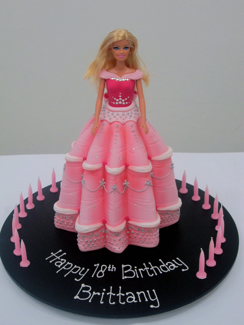 Barbie Fashion Birthday Cakes