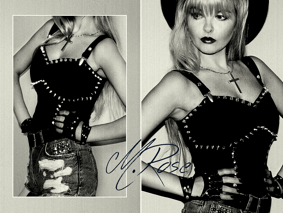 Dangerous Clothing, Missi Rose, 80's style, Rock and Roll outfit, studded bralet