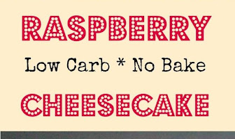 Raspberry No Bake Cheesecake (low carb)