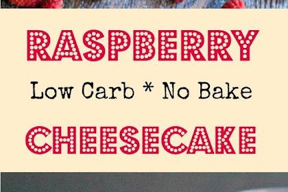 Raspberry No Bake Cheesecake (low carb)