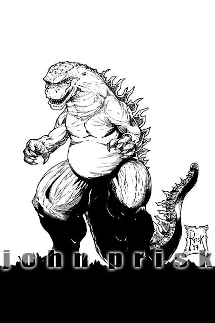 Godzilla - John Prisk