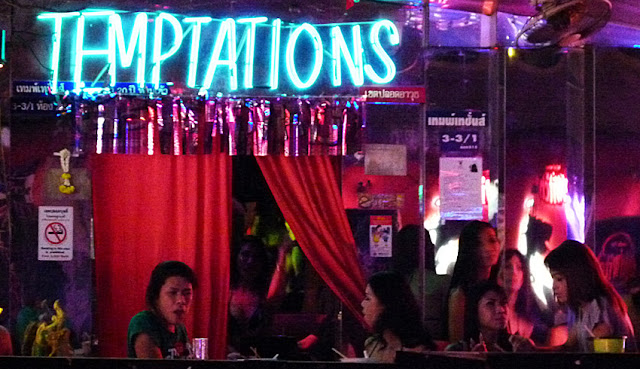 Thailand Nightlife temptations