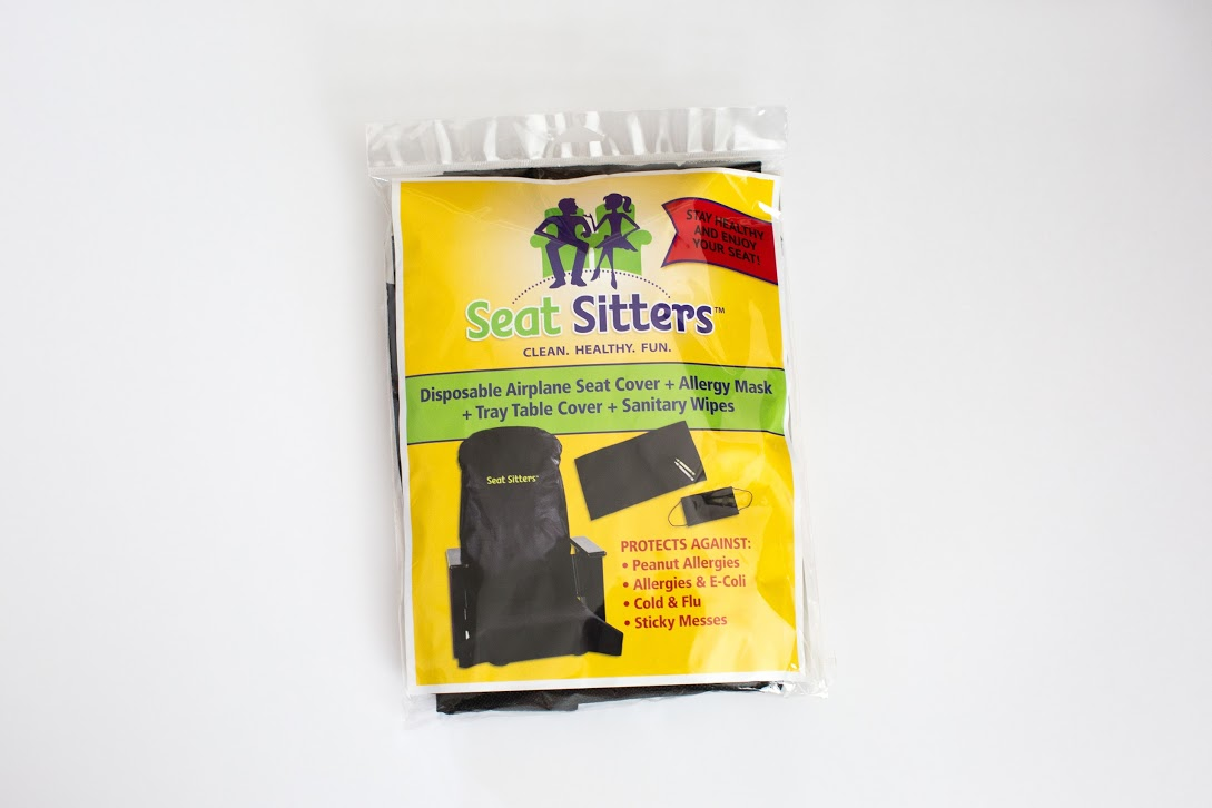 Soft Comfortable And Reusable Seat Covers For Use On Airplane Theater Seats