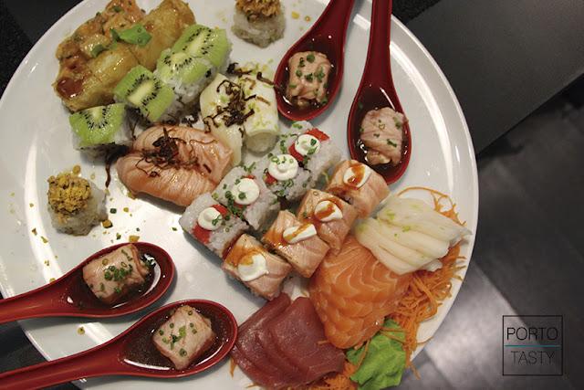 Rodízio All You Can Eat, Sushi, Sushisan, Sushisan Porto