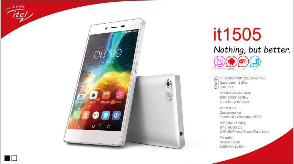 How To Unlock Pattern iTel it1505, itel it1506 and it1507