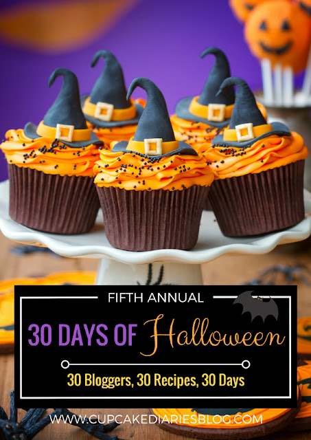 "5th Annual Cupcake Diaries ""30 Days of Halloween"" #30DaysofHalloween"