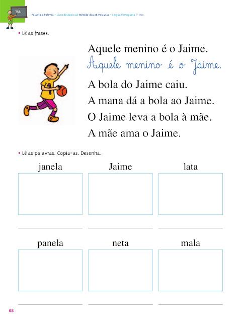 Método das 28 palavras alfabetização