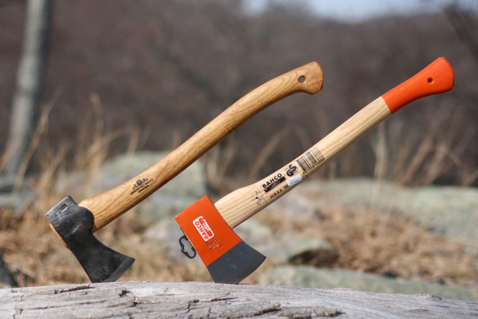 Wood Trekker Bahco Sandvik 19 Inch Rucksack Axe Review
