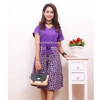 Dress Batik Deasy Motif Bunga 3