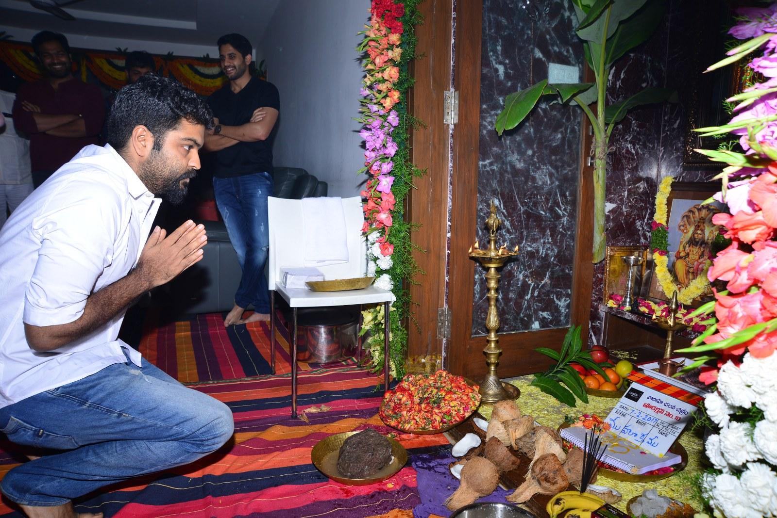 Chaitu Lavanya New Telugu movie Launch-HQ-Photo-7