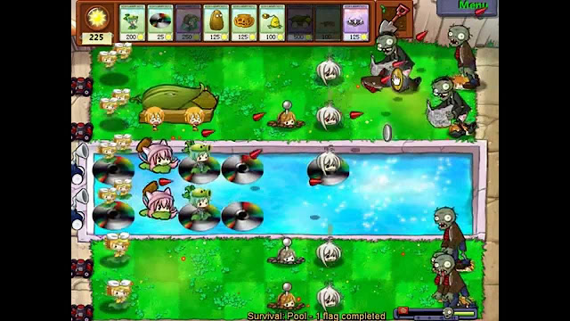 Vocaloids vs Zombies screenshot 2