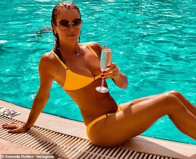 """I wanted to get it out of the way!' Amanda Holden, 48, reveals why she lost her virginity at 16"