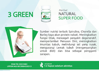 3GREEN NATURAL SUPERFOODS