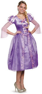 Women's Disney Princess Rapunzel Deluxe Adult Costume for Halloween
