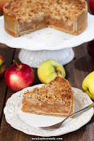 Zdrowa szarlotka (bez glutenu, laktozy i cukru)