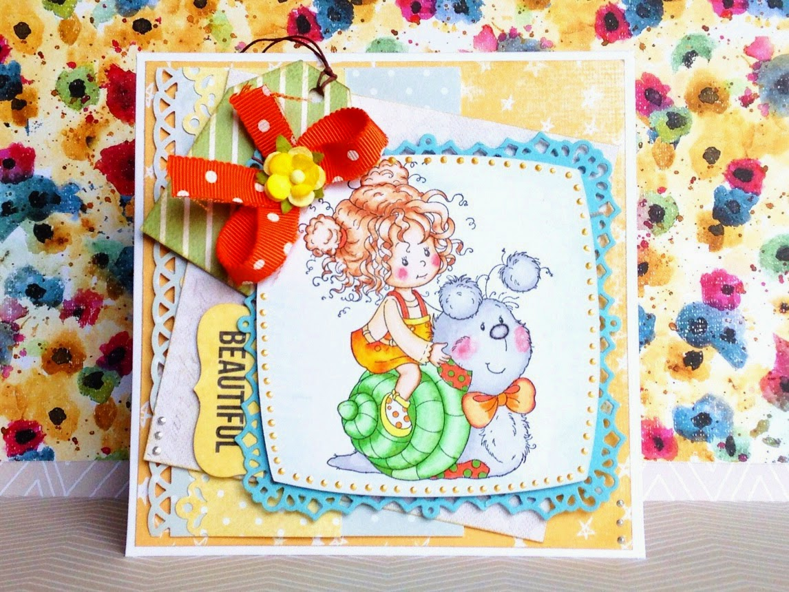 card for a little girl