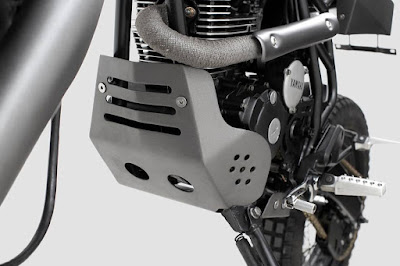 Yamaha Scorpio carter cover by Thrive Motorcycle