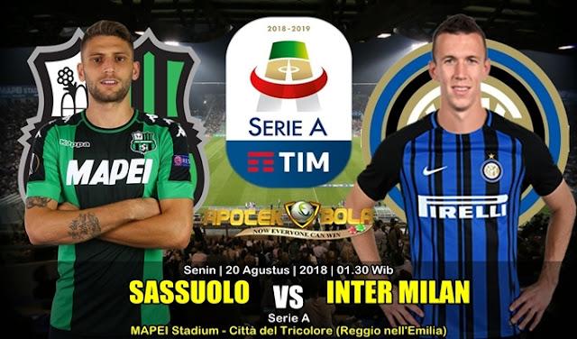 Prediksi Sassuolo Vs Internazionale 20 Agustus 2018