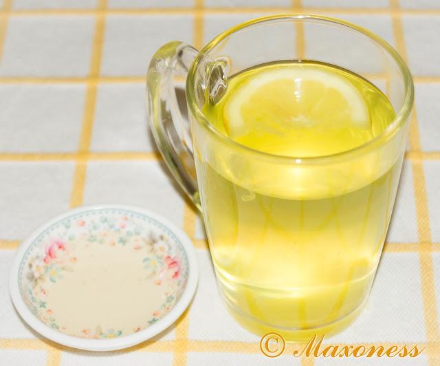 Чай из имбиря, куркумы и лимона с мёдом от Джейми Оливера