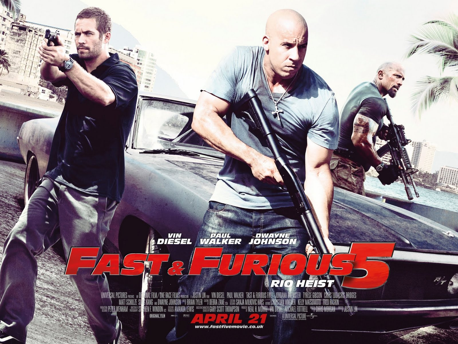 Fast And Furious 5 A Todo Gas Rio Heist Pelicula