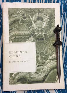 Portada del libro El mundo chino, de Jacques Gernet
