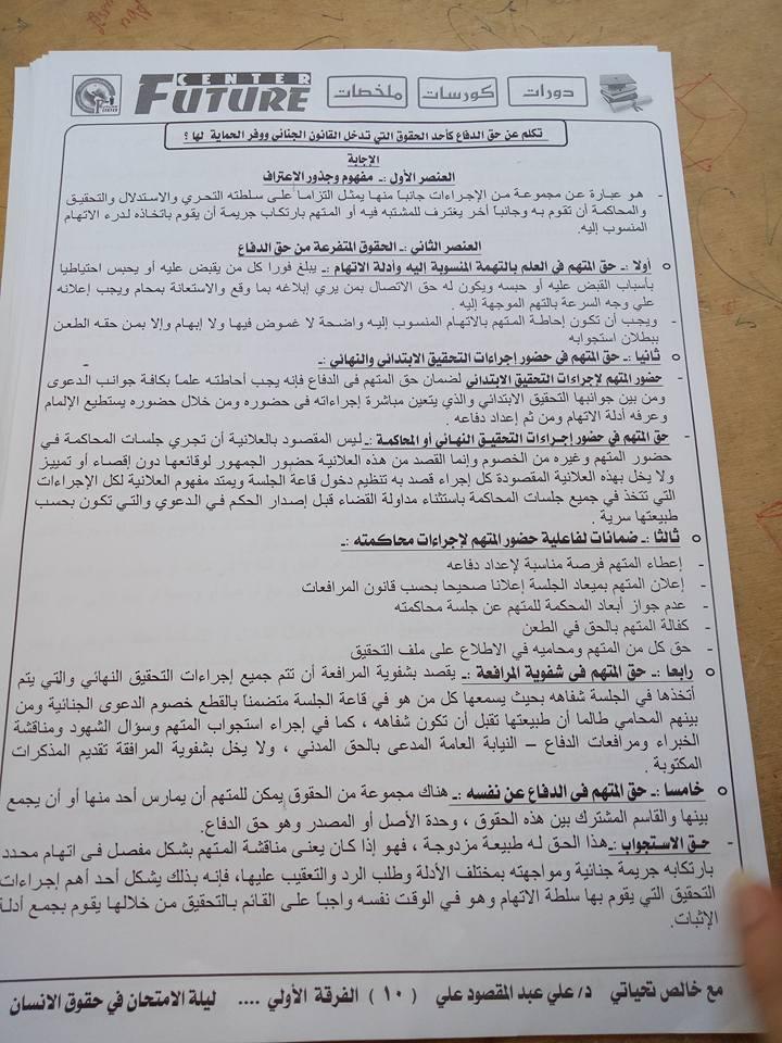 كتاب حقوق الانسان pdf جامعة حلوان