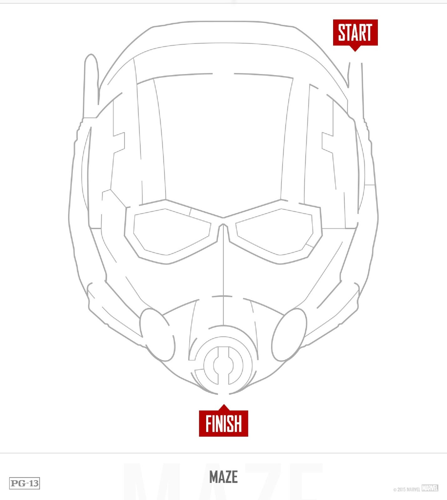 Free Marvel Antman Printable Party Decoration Pack T