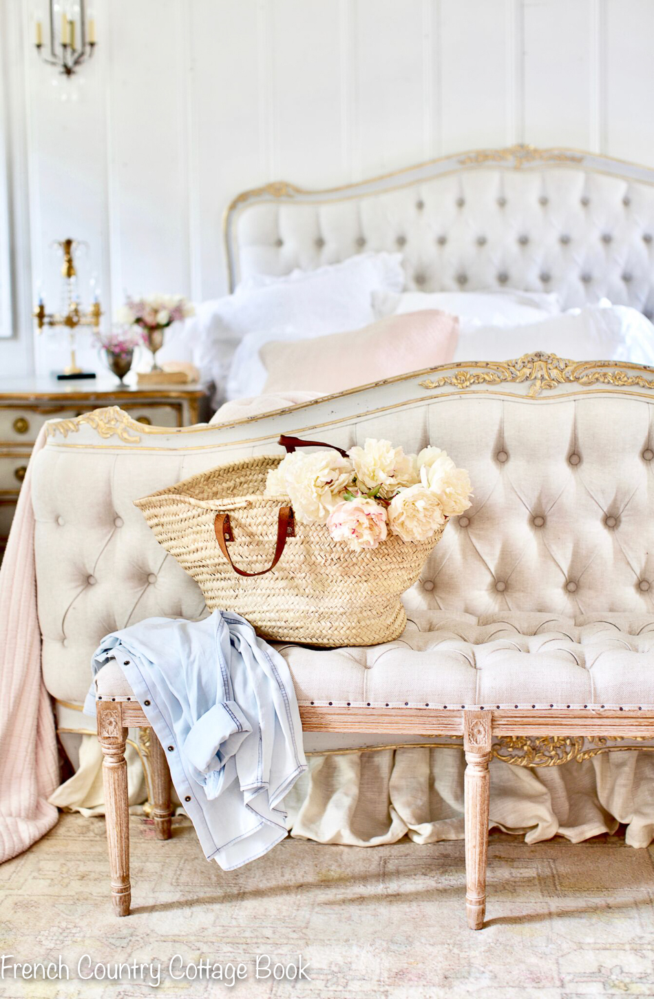 Spring Home Tour- In the Cottage Bedroom - FRENCH COUNTRY ...
