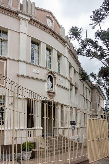 Casa Provincial das Filhas da Caridade de São Vicente de Paulo - entrada principal