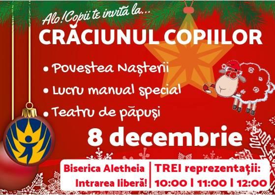 AloCopii România - Crăciunul copiilor la Timisoara