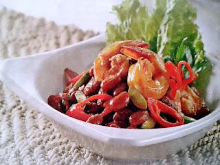 Gambar Resep Sambal Goreng Udang kacang Merah