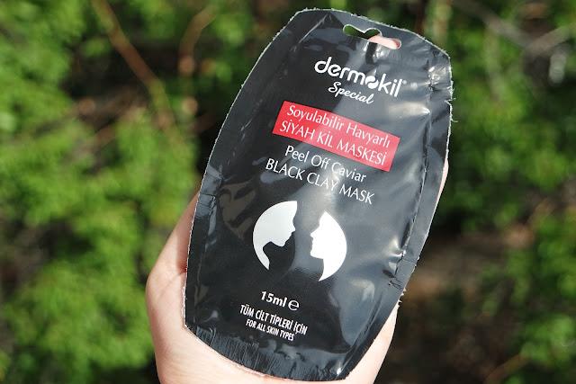 Dermokil Soyulabilir Havyarlı Siyah Maske