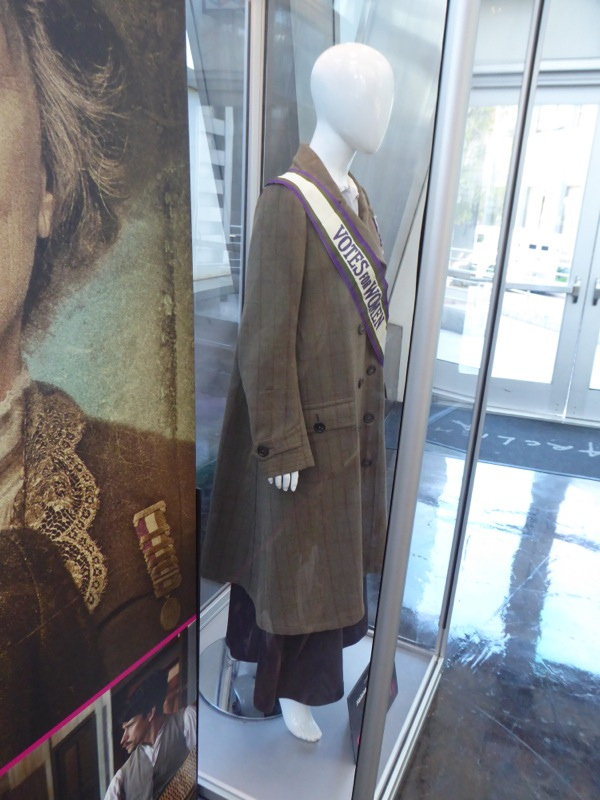 Suffragette Edith Ellyn film costume