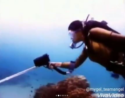 #Throwback: Angel Locsin's Iconic Underwater Scene In Asian Treasures
