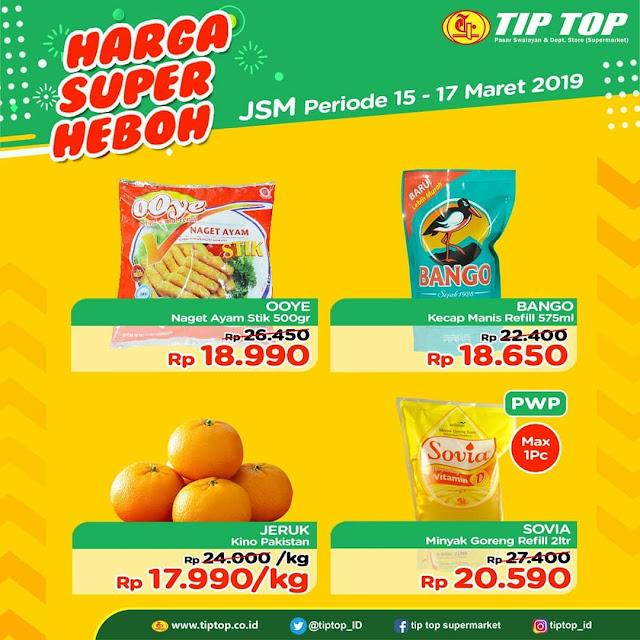 #TipTop - #Promo #Katalog JSM Periode 15 - 17 Maret 2019