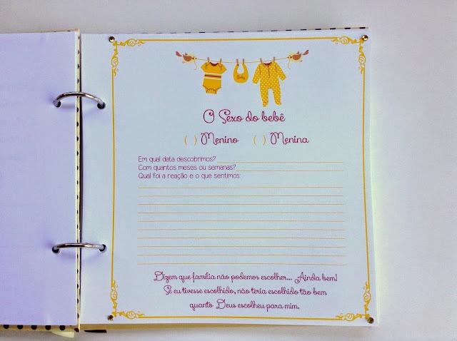 diário da gravidez, diário da gestante, bege e marrom, unissex, presente criativo grávida, personalizado, álbum gravidez