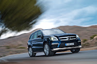 2012 all new Mercedes GL350 (X 166) luxury suv offroad original media photo